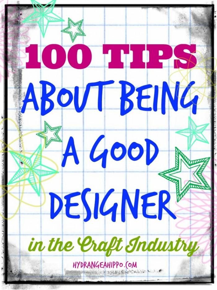 100 tips being good designer hydrangeahippo