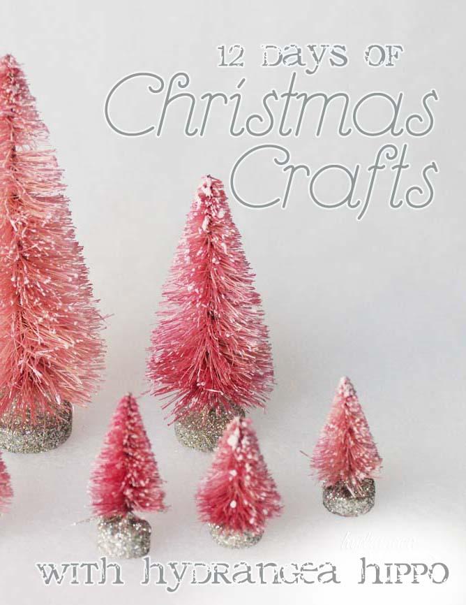12 days of christmas crafts day 10 hydrangea hippo by jennifer priest - 10 Days Of Christmas
