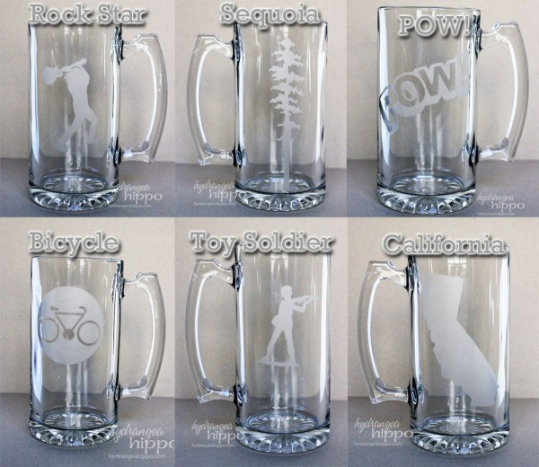Beer Mug Assortment - Set 4