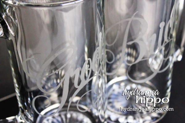 Bride and Groom Beer Mug Set