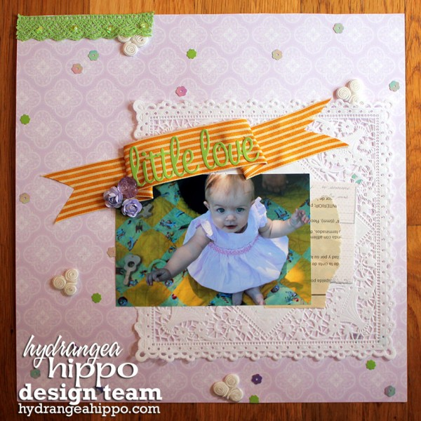 Holly King for Hydrangea Hippo May2013 Little Love Layout