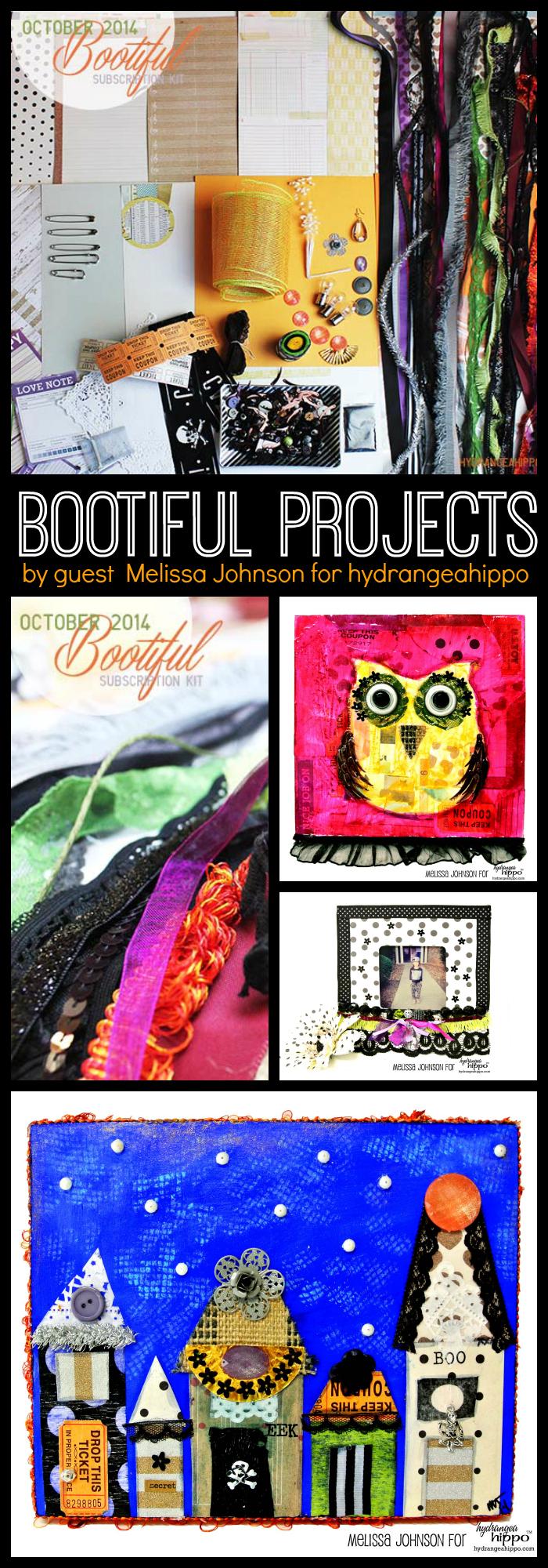 Oct 2014 Bootiful Kit - Guest Designer Melissa Johnson for Jennifer Priest