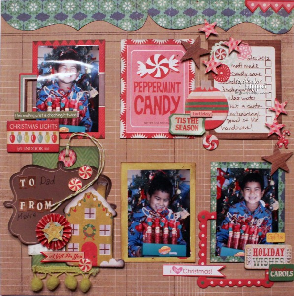 The Daily Scrapbook Page Layout-4