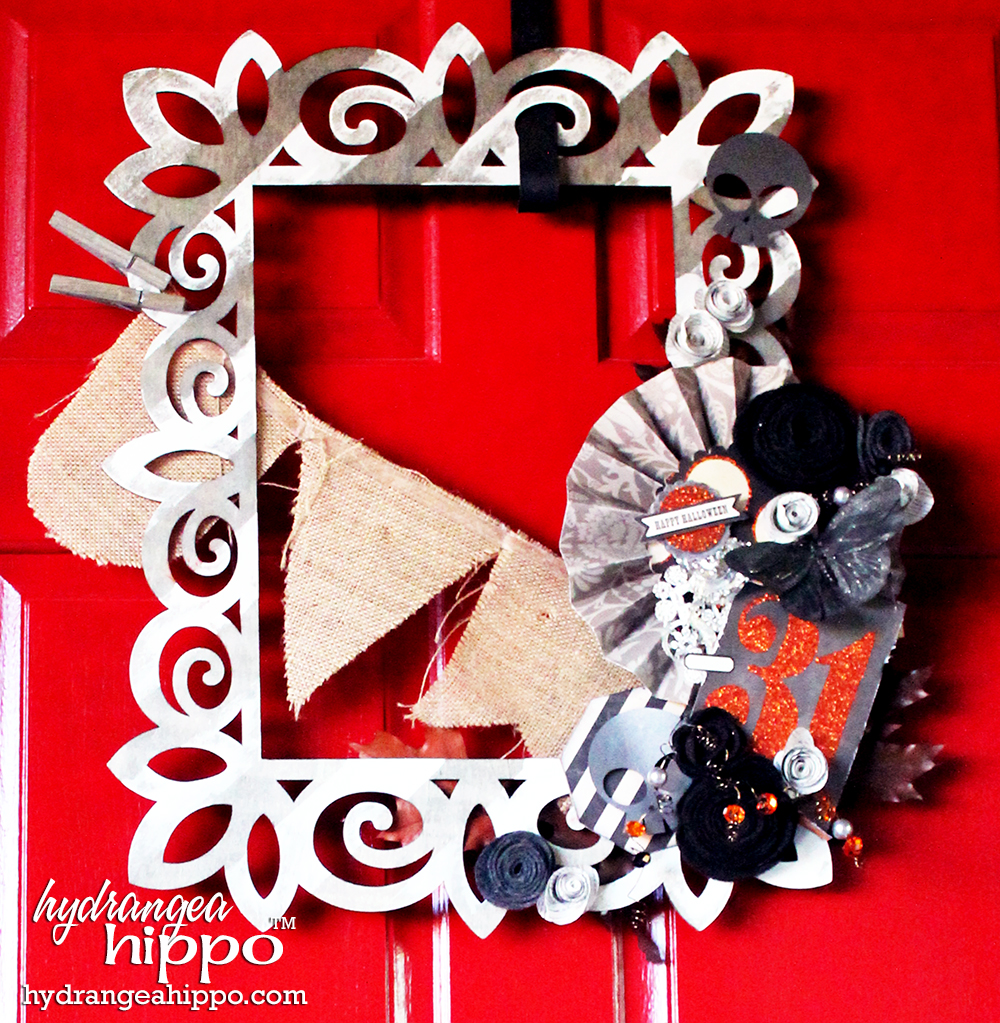 Double-Sided-Fall-Halloween-Wreath-by-Jennifer-Priest-Xyron-Clearsnap-Echo-Park-CartaBella-Hydrangea-Hippo-Crafty-Hangouts9