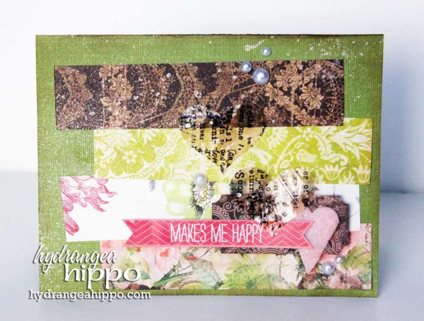 You Make M Happy Card with Ice Resin Paper for Tombow Jennifer Priest