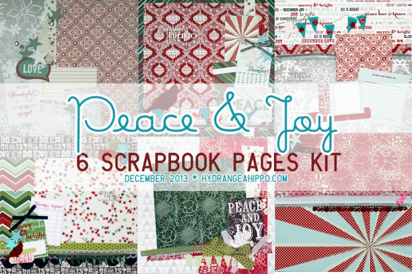 December-2013-Peace-and-Joy-Scrapbook-Pags-Kit-Hydrangea-Hippo