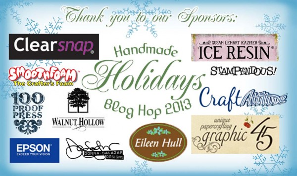 Handmade Holidays Blog Hop 2013 Logo - Sponsors