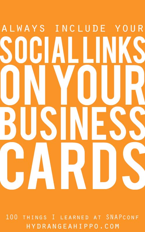 SNAP-Business-cards-social-links-Quote-Art-Hydrangea-Hippo