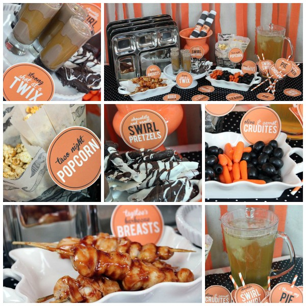 You'll need stainless steel rectangular divided dinner trays to make your OITNB really fun and exciting! Check out Jennifer Priest's complete tutorial for making a DIY OITNB party!