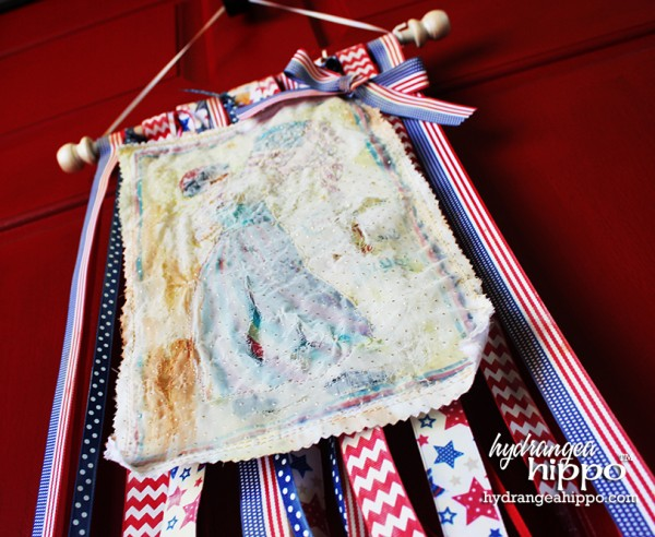 Craft Attitude 4th of July Quilt Banner by Jennifer Priest