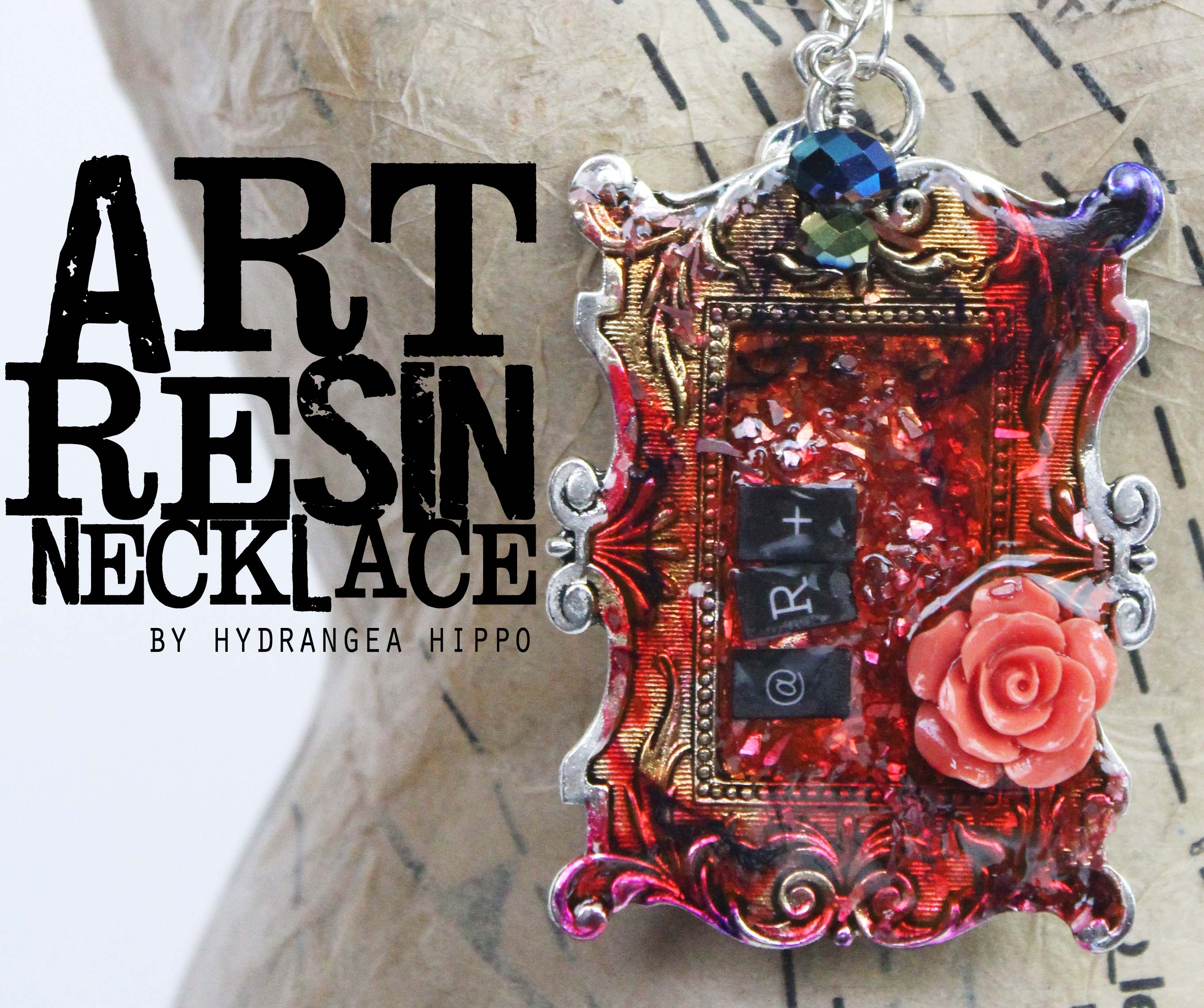 Resin archives hydrangea hippo by jennifer priest how to add color to resin an artsy necklace tutorial aloadofball Gallery