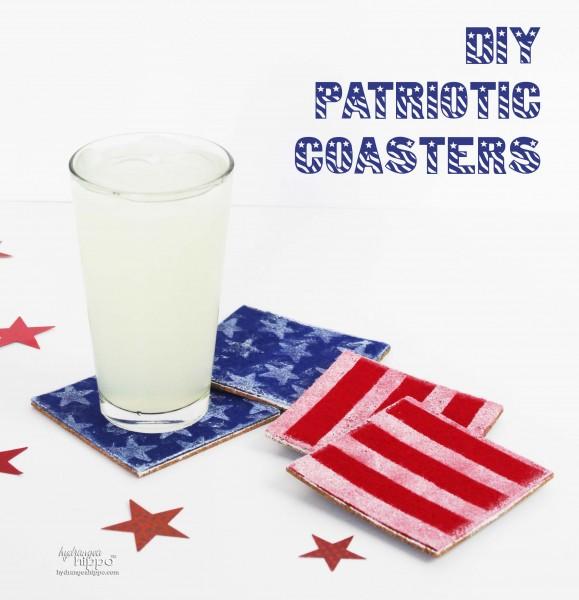 Patriotic Felt Coasters - Jennifer Priest for Kunin