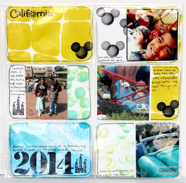 Clearsnap New Product Release - Stencils-Sprays-Pocket-Scrapbooking by Jennifer Priest