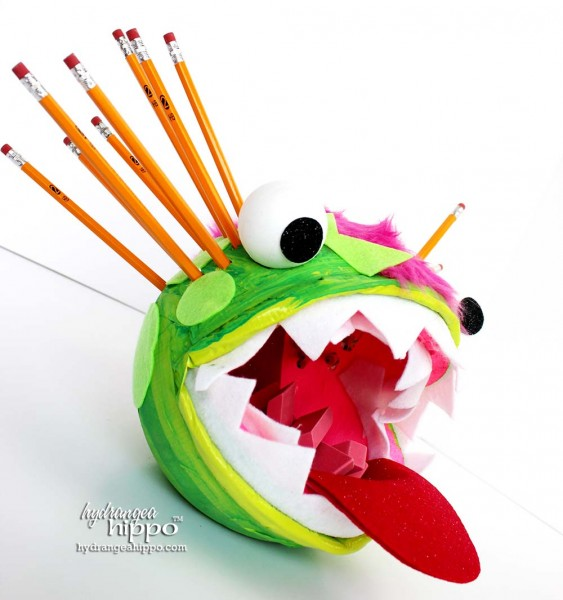 Monster Pencil Caddy - by Jennifer Priest for Smoothfoam 2