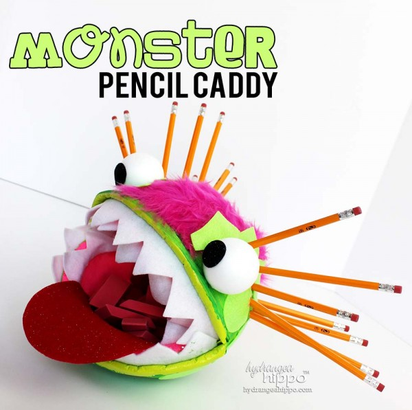 Monster Pencil Caddy - by Jennifer Priest for Smoothfoam