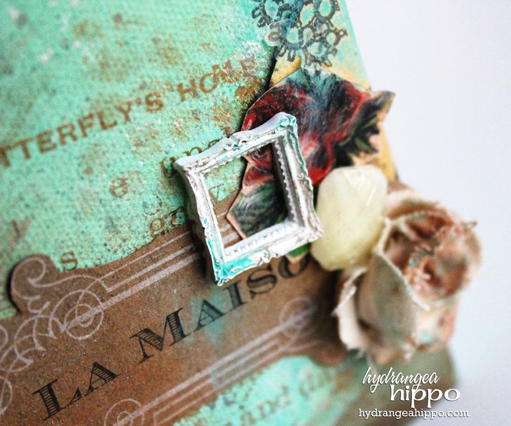 Upcycled Dress Form Canvas by Jennifer Priest for Tombow USA - detail2