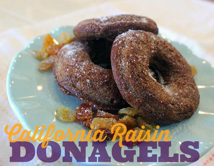 California Raisin Cinnamon Donut Bagels Donagels by Jennifer Priest TITLE