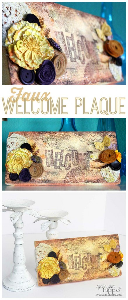 Faux WelcomePlaque Collage wm