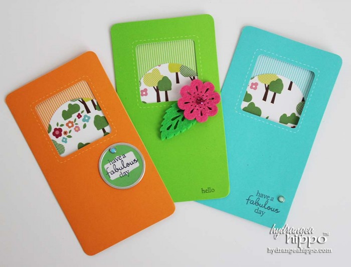 3 quick and easy cards - Jennifer Priest