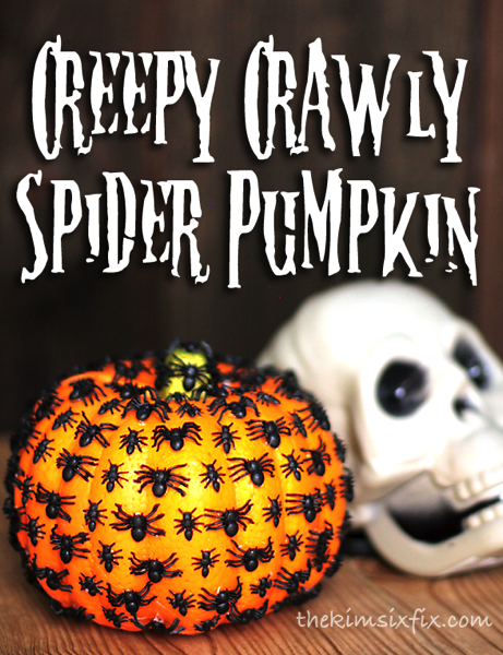 Creepy-Crawly-Spider-Pumpkin