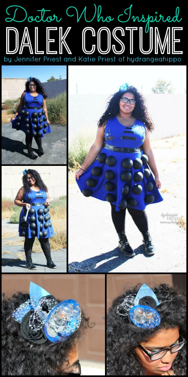 Doctor Who Inspired DALEK Costume by hydrangeahippo Jennifer Priest and Katie Priest hq