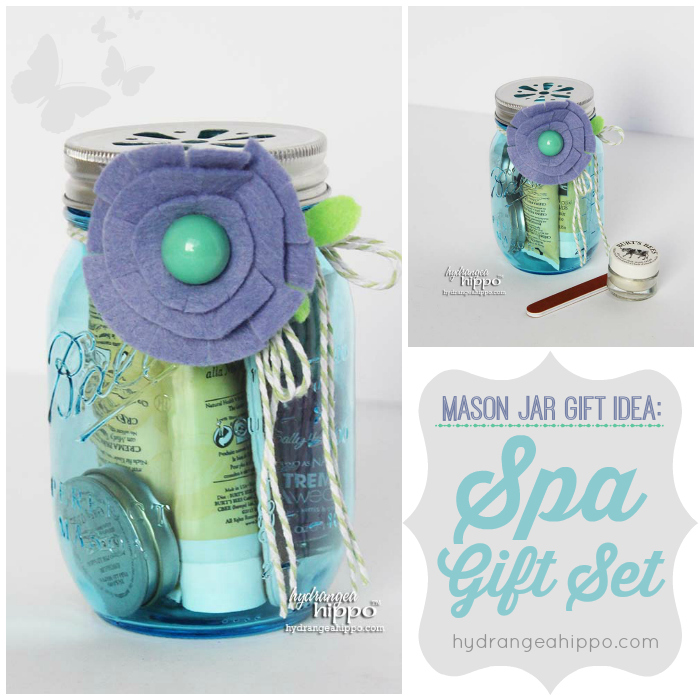Diy spa kit a mason jar gift idea for the holidays for A bathroom item that starts with p