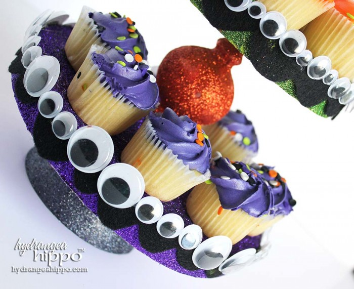 Smoothfoam Halloween CupCake Stand by Jennifer Priest of hydrangeahippo 2