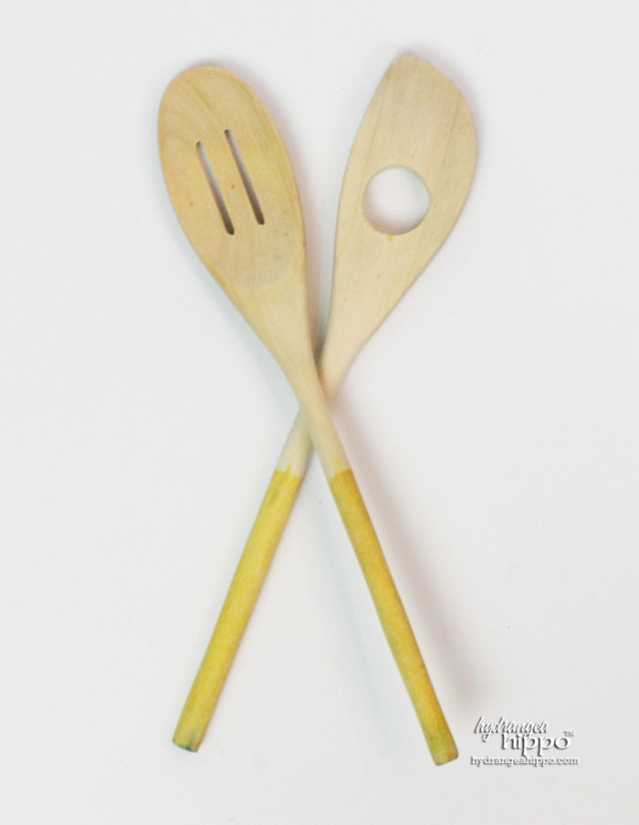Bark Edge Chalkboard and Gold Tipped Spoon Gift Set by Jennifer Priest for Hydrangea Hippo - Handmade Holidays 2014 3