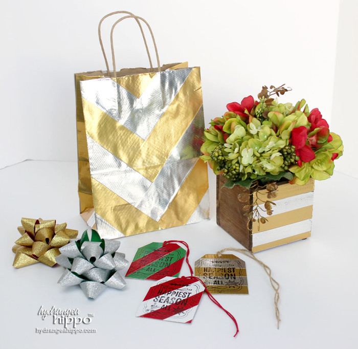Holiday Duck Tape Projects by Jennifer Priest for hydrangeahippo Crafty Hangouts