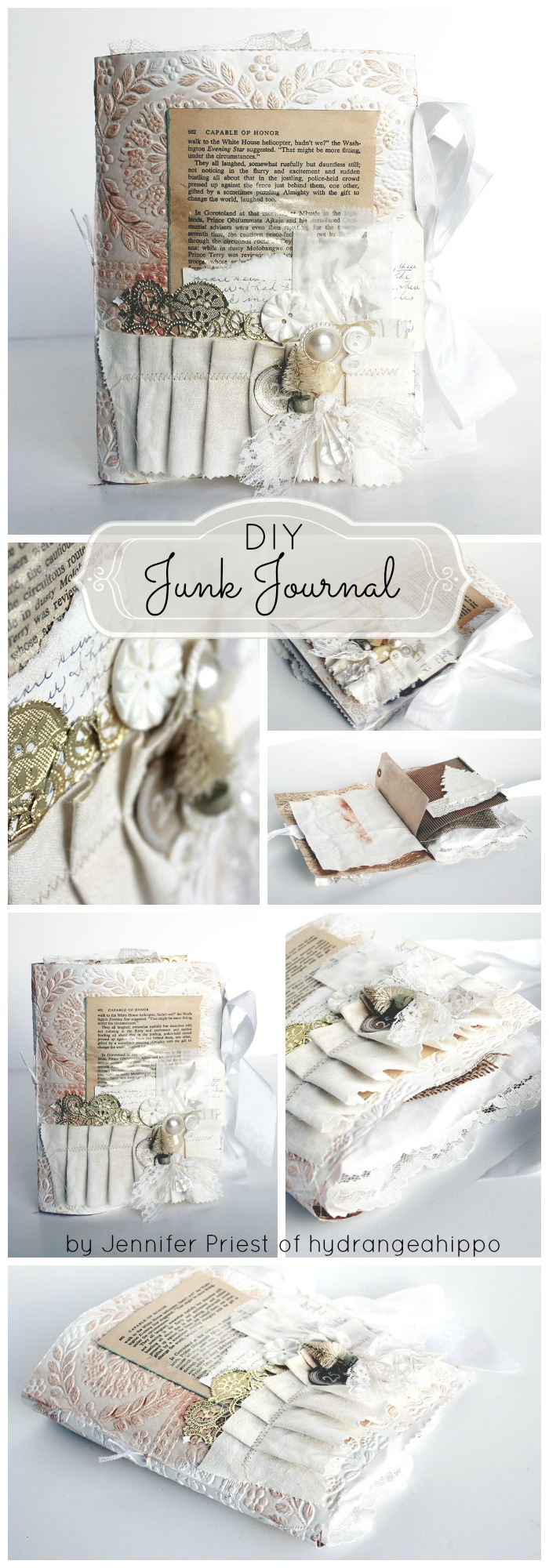 Junk Journal by Jennifer Priest COLLAGE