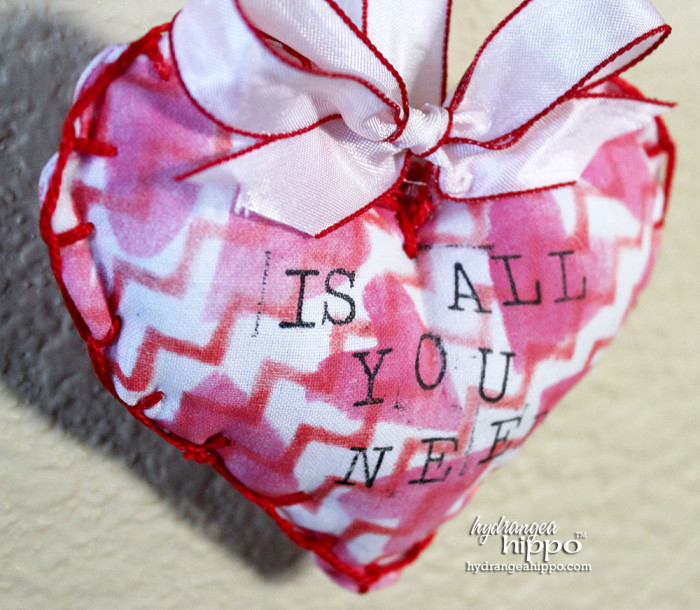 Love is all you need BISTRO Sign by Jennifer Priest for Hydrangeahippo Handmade Holidays Blog Hop 2014 2