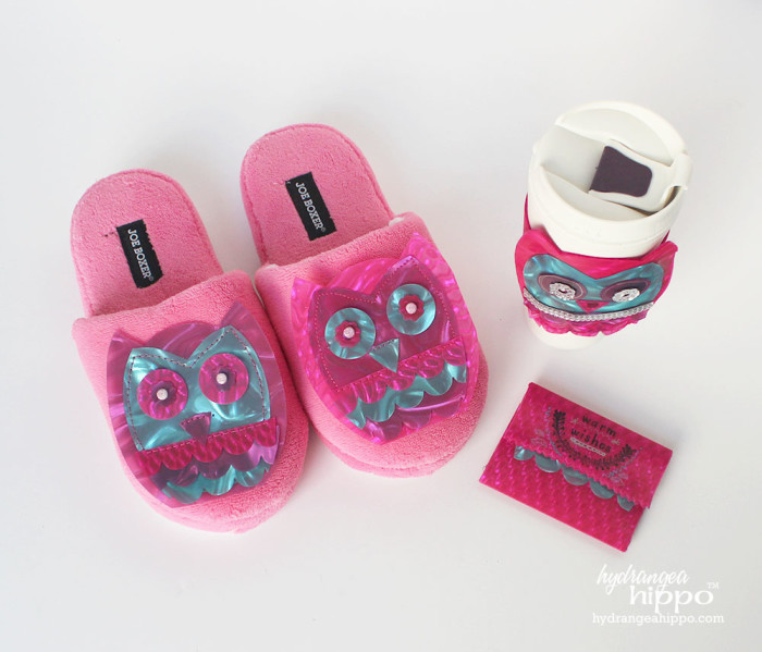 Relaxing Owl Gift set by Hydrangeahippo Jennifer Priest Handmade Holidays 2014 Blog Hop 2