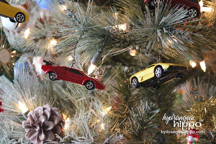 2014-12 Boy Ornaments - Muscle Cars by Jennifer Priest hydrangeahippo 2