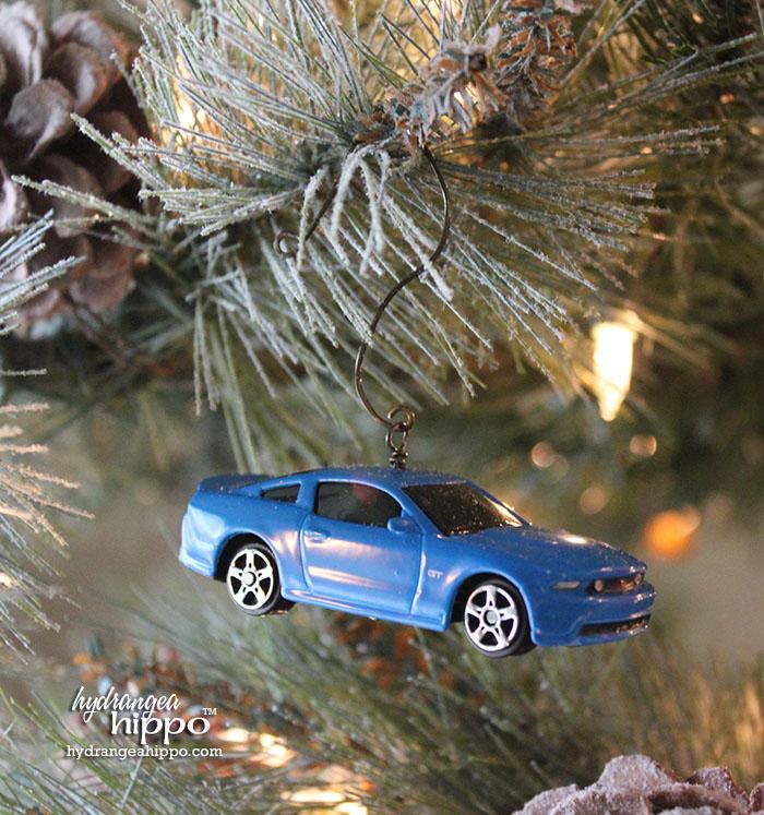 2014-12 Boy Ornaments - Muscle Cars by Jennifer Priest hydrangeahippo 3
