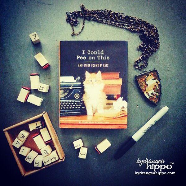 Cat Pee Book hydrangeahippo