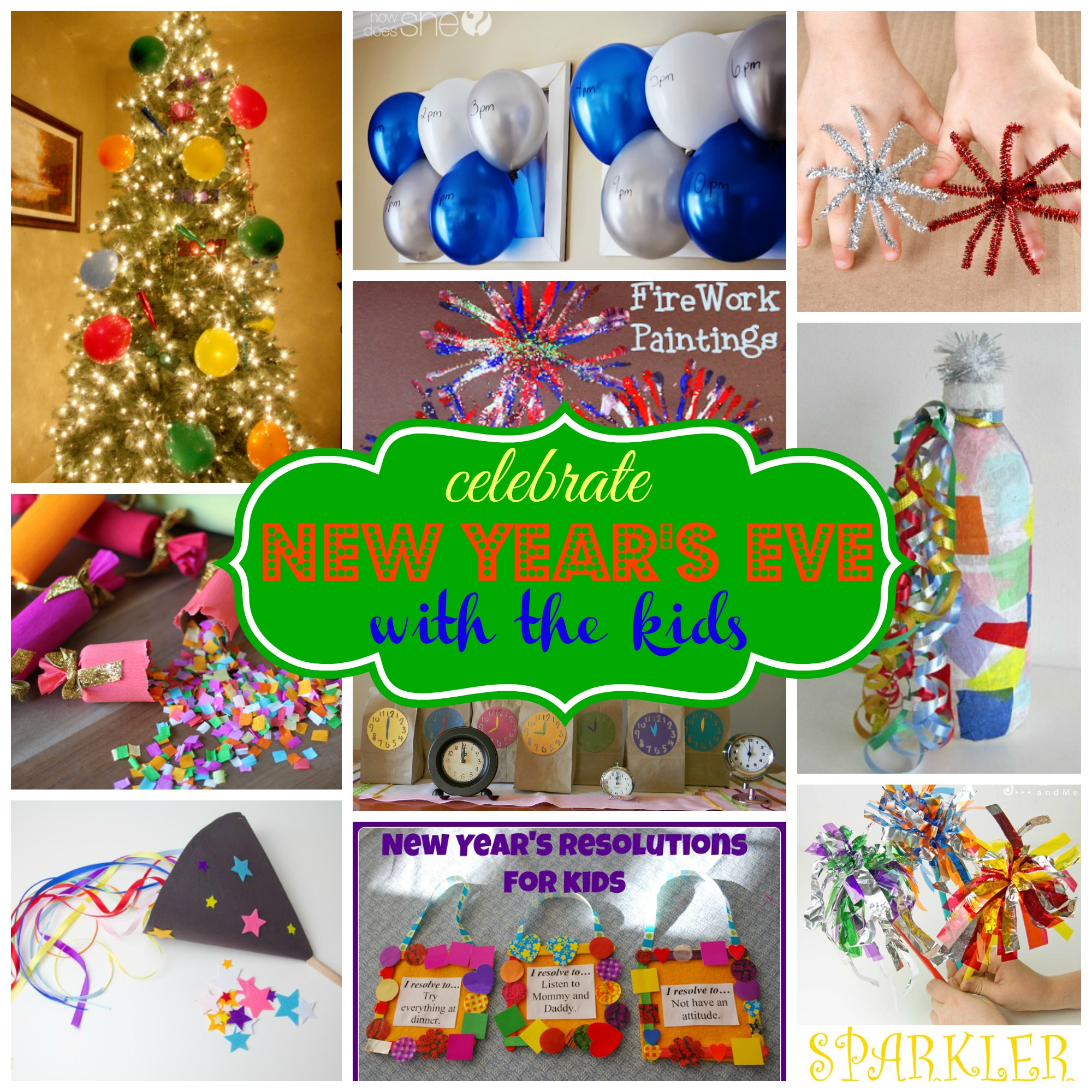 Quick And Easy New Years Crafts