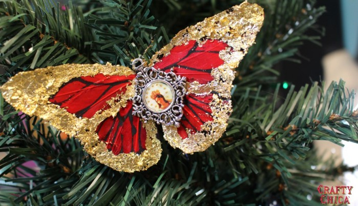 Day 2 - craftychica butterfly-ornament