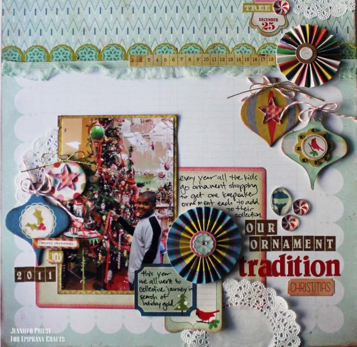 EC DT Dec 2011 - Jennifer Priest - Our Ornament Tradition