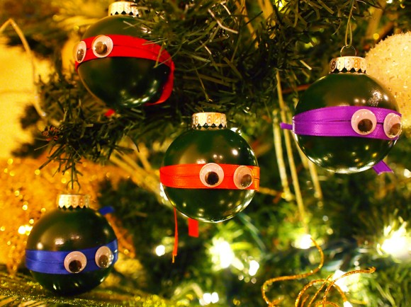 day 2 - tmnt ornaments