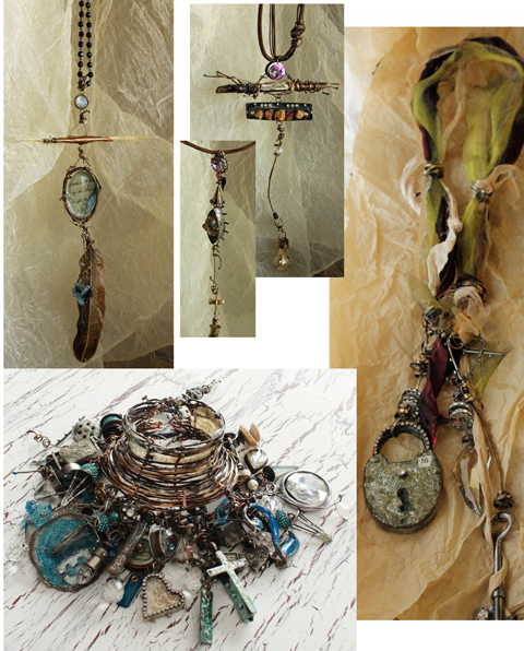 Pieces Susan Lenart Kazmer designed and taught in classes in 2014