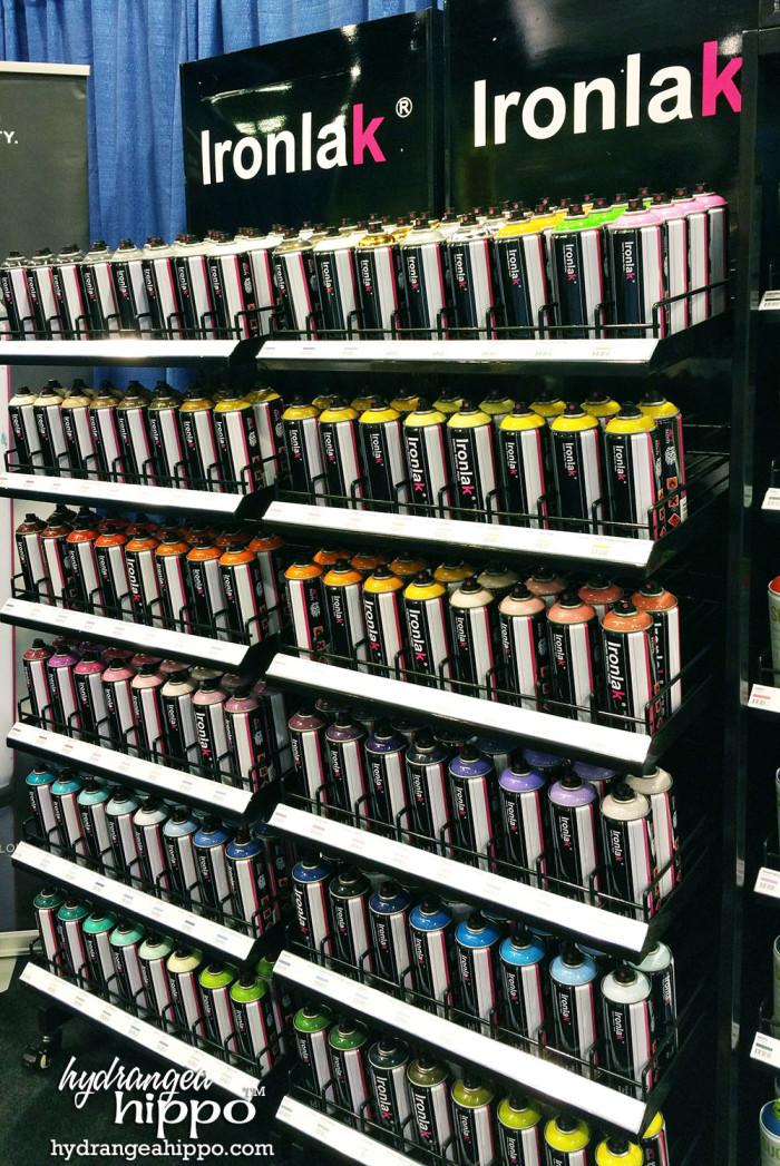 2015-01 CHA 2015 IRONLAK Spray Paint
