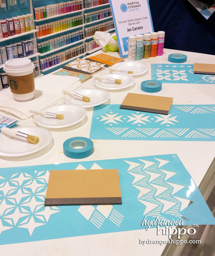 2015-01 CHA 2015 PLAID - Martha Stewart Stencils Tribal