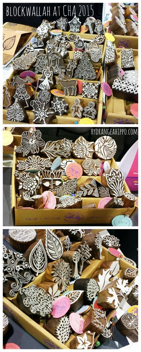 Blockwallah Wood Carved Printing Blocks at CHA 2015