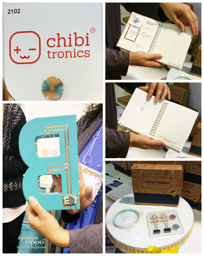 Chibitronics at CHA 2015