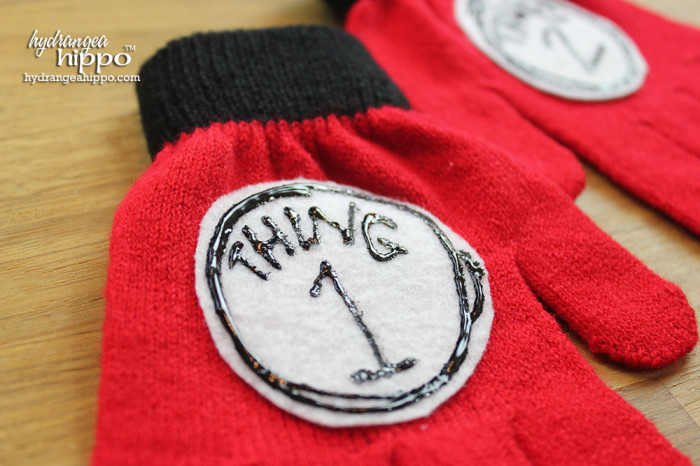 Create custom patches for anything and in any theme using Kunin felt and Tulip Dimensional Fabric Paint.