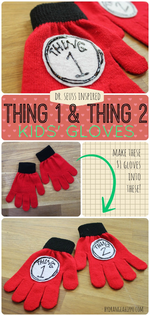 Dr Suess Gloves from Dollar Gloves by Jennifer Priest