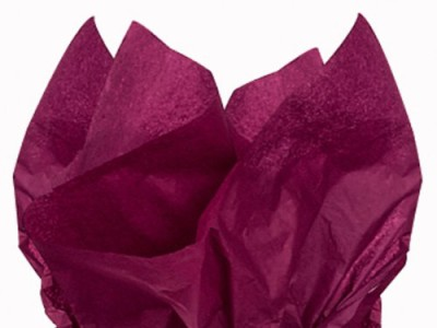 Marsala tissue paper