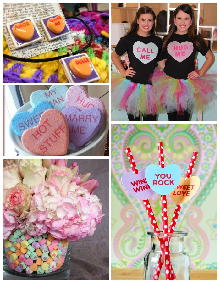 14 Conversation Heart Crafts - 2