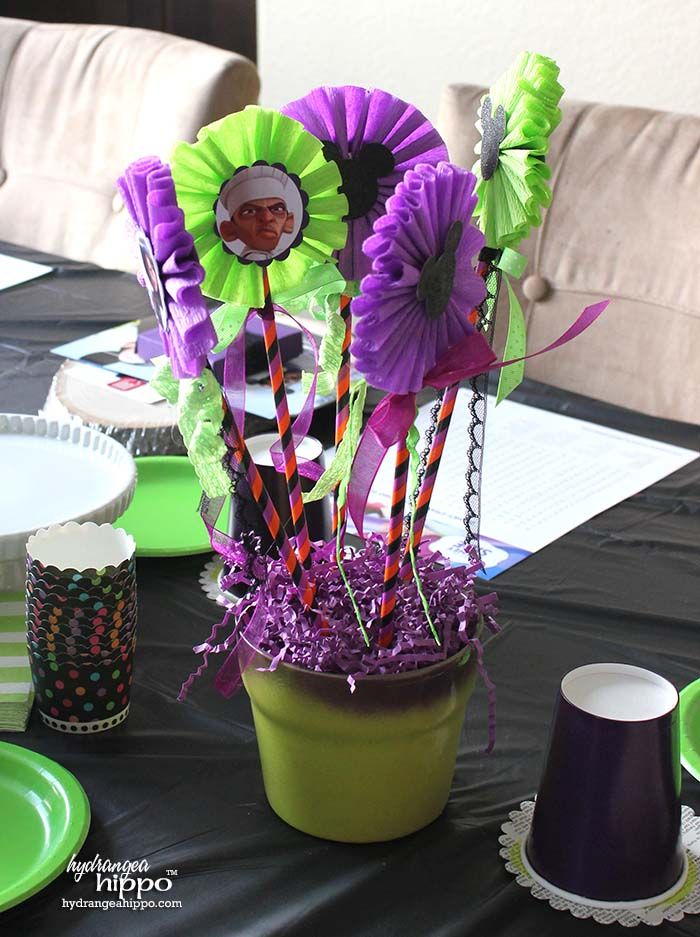 Disney Villains Centerpieces for a Mad Tea Party - Using Styrofoam Balls - by Jennifer Priest 2