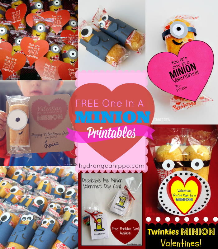 The best FREE ONE IN A MINION Printables on Pinterest